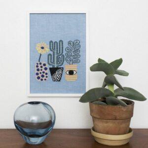 OOE, Tine Wessel - Plants i Pots, blå