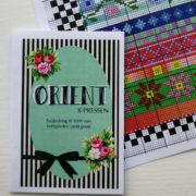 Orient x-pressen mønster