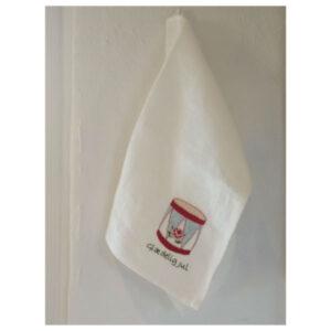 Tille's, Gæstehåndklæde med tromme, broderikit