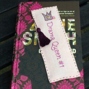 Tille's, Drama Queen -bogmærke, broderikit