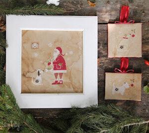 Madame Chantilly, Santa and the Dog