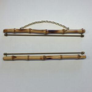 Broderibeslag - bambus