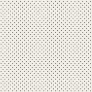 Tilda stof i 100% bomuld, Tiny dots grey