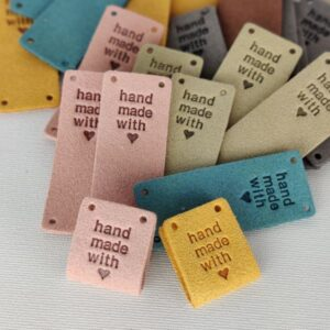 Handmade with love - label