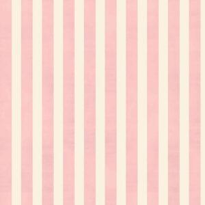 Riley Blake, stof i 100% bomuld, Shell Rose And Violet's Garden Stripes