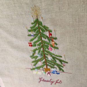 Juletræet med sin pynt, Stitch along/kursus